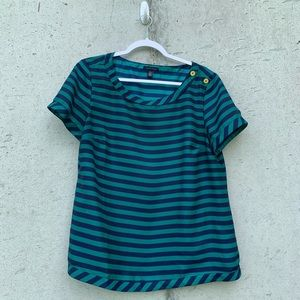 Tommy Hilfiger Striped Blouse : XL